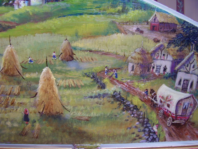 Detail of the Romanian Village